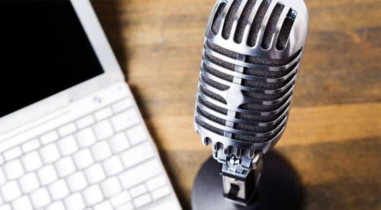 Produção de produto em audio